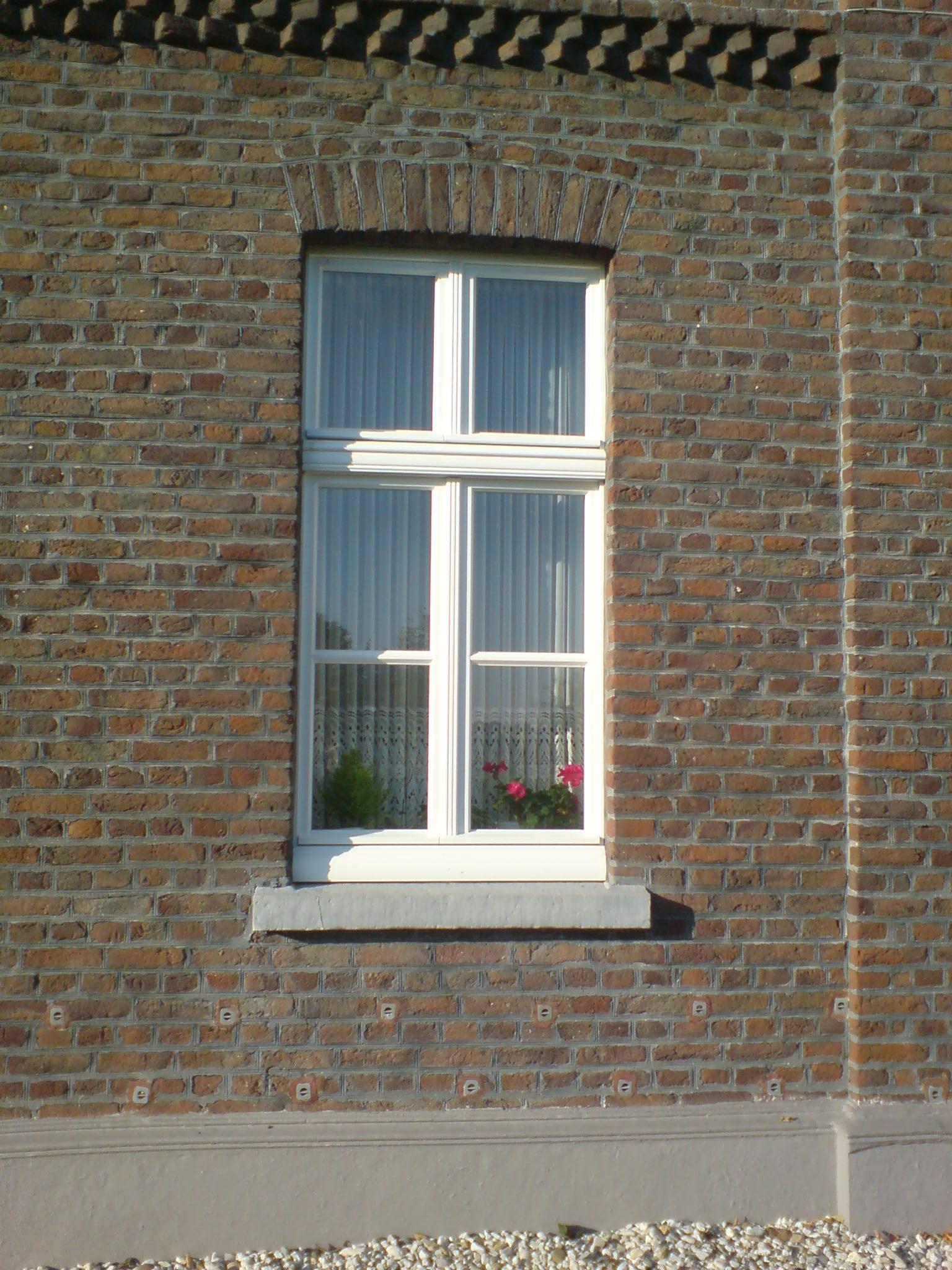Fenster von frontal Fotografiert